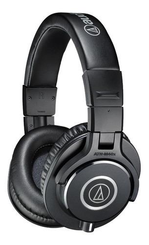 Imagen 1 de 3 de Auriculares Audio-technica M-series Ath-m40x Negro