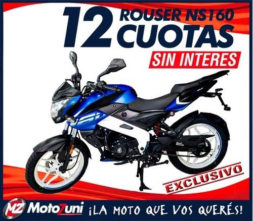 Bajaj Rouser 160 Ns Td - Desc Contado Motozuni