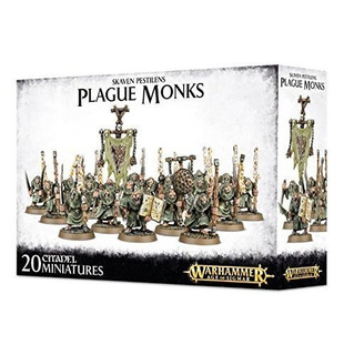 Warhammer 40k Edad De Sigmar Skaven Pestilens Plague Monks