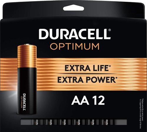 Imagen 1 de 6 de Pilas Baterias  Duracell Aa X 12 Unidades