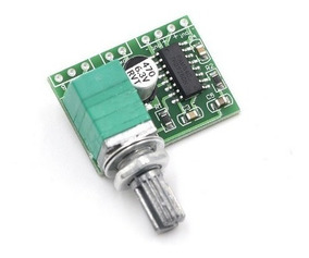 Módulo Amplificador Pam8403 Som 2ch 3w+3w Com Volume Stereo