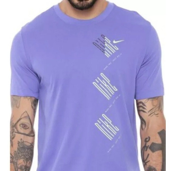 Camiseta Manga Corta Nike Graphic Dri-fit Hombre Entrenamien