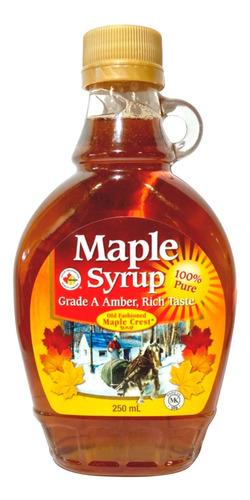 Imagen 1 de 6 de Jarabe De Arce Maple Syrup 100% Pura - Origen Canada