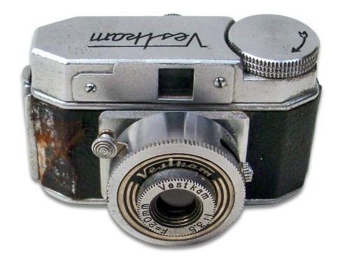 Mini Câmera Fotográfica Vestkam Feita No Japão- Não Funciona