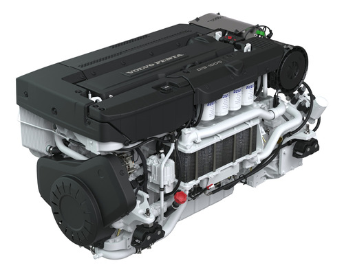 Motor Diesel Volvo Penta D13 1000hp Reversor P/ Barco Lancha