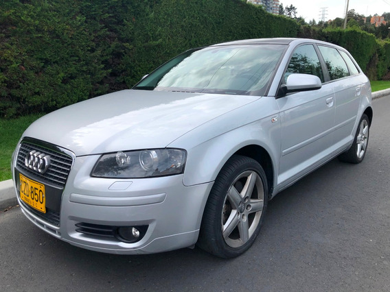 Audi A3 Sportback 2.0t 200hp Secuencial Levas Sunroof
