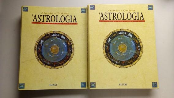 Livro Aprender E Conhecer Astrologia 2 Volumes