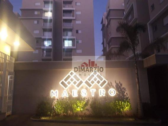 Apartamento Com 2 Dormitórios Para Alugar, 55 M² Por R$ 890,00/mês - Jardim Dona Regina - Santa Bárbara D