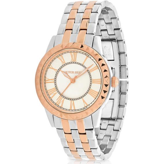 Relógio Victor Hugo Luxo Feminino - Vh10151lssr/28m