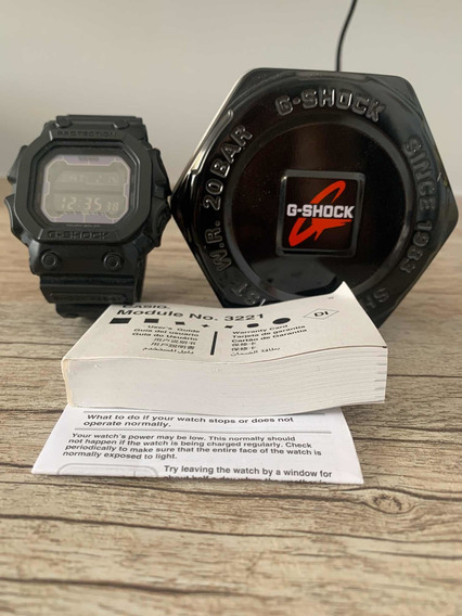 Relógio G-shock Modelo 3221 The King A Energia Solar!