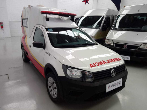Ambulância Volkswagen Saveiro Robust 1.6
