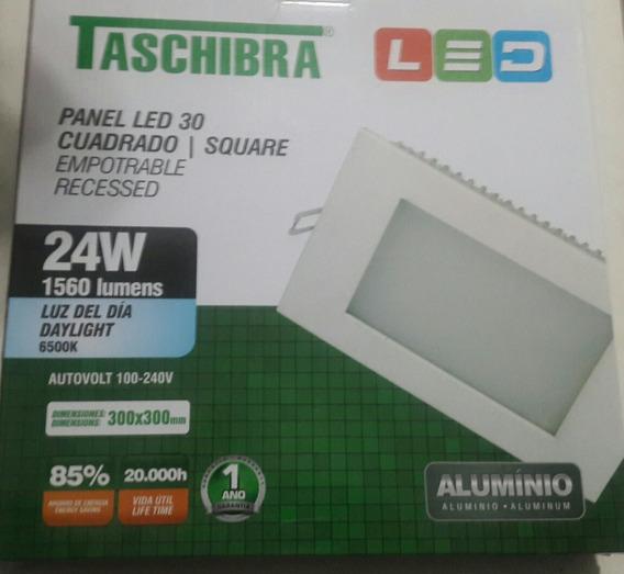 Painel Lwd 30 Quadrado Taschibra 24w Luz Fria Embutir