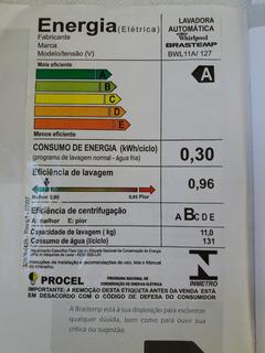 Lavadora De Roupas Brastemp Ative Bwl11a 11kg 110v