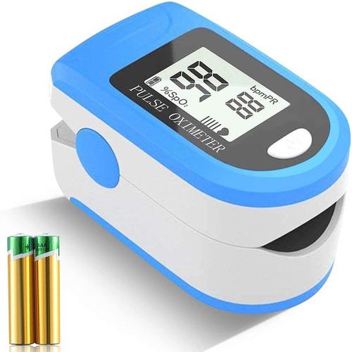 Oximetro Saturometro De Pulso Pantalla Led Garantía Crazy
