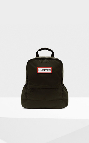 Mochila Hunter Original Backpack Nylon Negro Rojo Az Ver I20