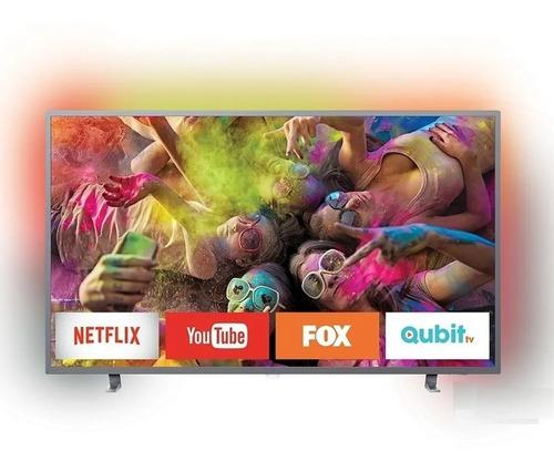Smart Tv 55 Philips 4k Ultradelgado 55pug6703/77 En Cuotas