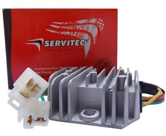 Retificador Bateria Regulador Voltagem Mirage 650 Servitec