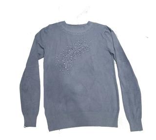 Sweater Bordado Brillos Importado Invierno