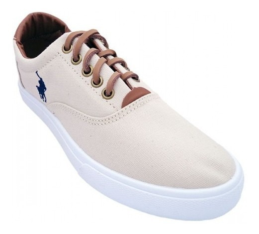 Tênis Polo Ralph Lauren Vaugh Creme