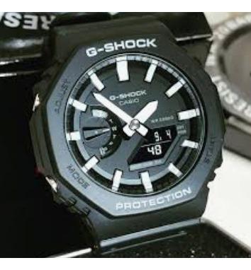 Relogio G-shock Ga-2100-1a Fino Pequeno Ga2100 Original