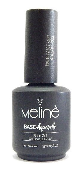 Base Gel Uvled Efecto Aquarelle Acuarela Meline