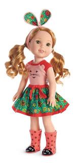 Muñeca American Girl Welliewishers Willa Doll
