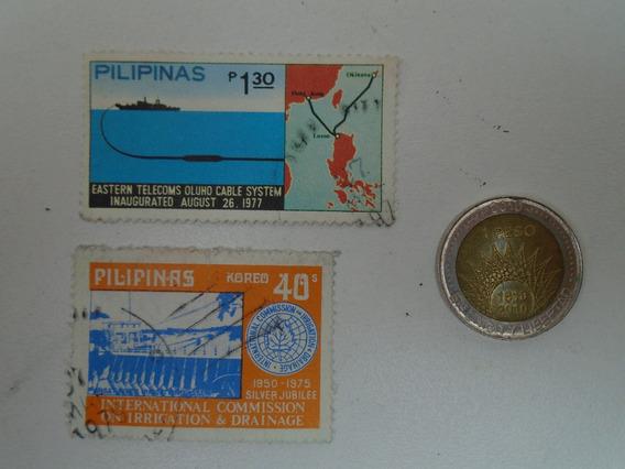 Estampilla Filipinas Antigua