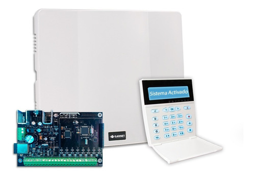 Panel Alarma Casa Pc-900 Comunicador Wifi Teclado Lcd Garnet