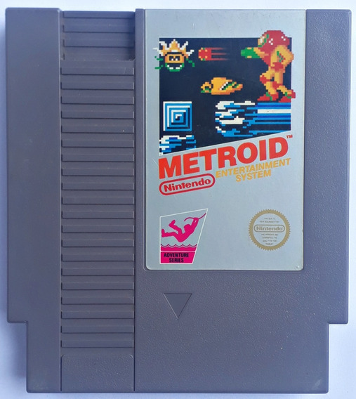 Jogo Metroid Nintendo Nes 8 Bits 72 Pinos Original Frete Gts