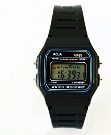 Relógio Aqua Aq-81 Similar Casio Promoção