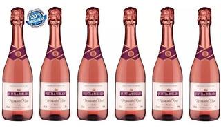 Vinho Espumante Moscatel Rose Q Morgado 660ml-6 Unidades