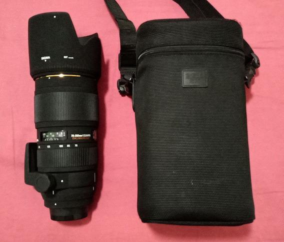 Lente Sigma 70-200mm 1:2.8 Apo Ex Dg Macro Hsm