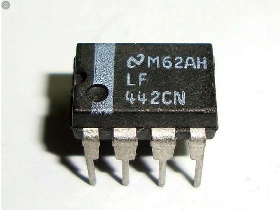 2 Peças Circuito Integrado Lf442cn - Lf 442 Cn Dip8 (gv04)