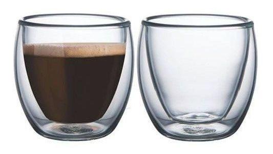 Dupla De Copos Para Cafe Parede Dupla Tcj1843 Mimo Style