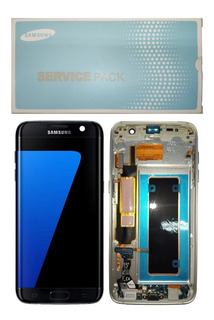 Touch Lcd Display Frontal Samsung Galaxy S7 Edge Sm-g935 Aro