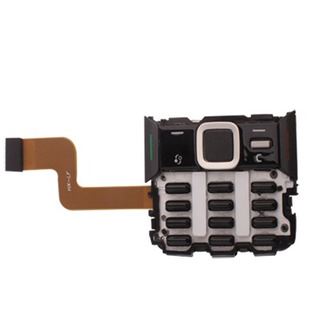 Nokia Repuesto Replacement Keypad Black Flex Cable Para N82