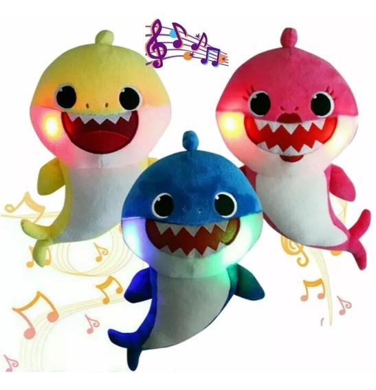 Baby Shark Tubarão Musicais C/ Led (cada Um)