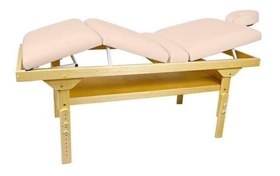 Maca De Massagem Fixa E Altura Regulável Belatrix Spa Legno