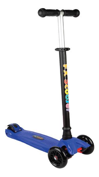 Patinete Infantil Scooter 3 Rodas Azul Pt-05 - Fenix