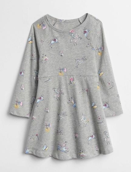 Vestido Gap Roupa De Menina - Unicórnio