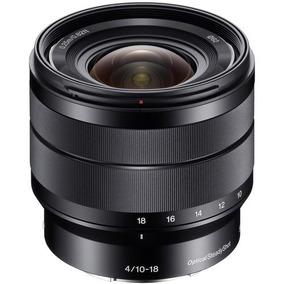 Lente Sony Sel10-18mm F/4 Oss