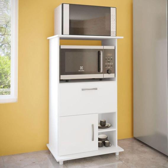 Armário Cozinha Para Forno E Microondas 2 Portas Mdp