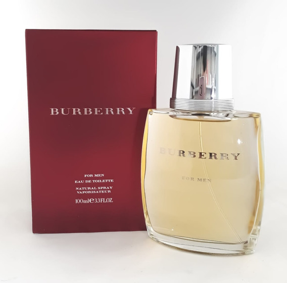 Perfume Burberry For Men 100ml Masc Edt + Brinde Amostra