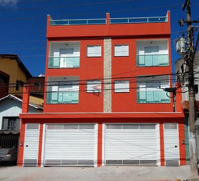 Cobertura Residencial À Venda, Parque Das Nações, Santo André - Co45504. - Co45504