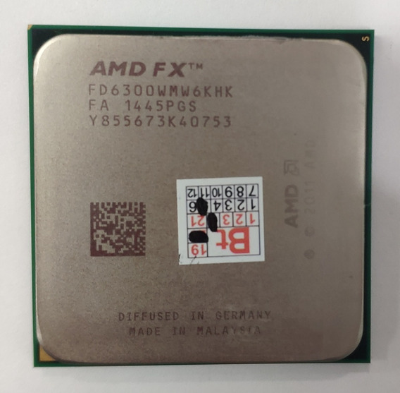 Processador Amd Fx Fd6300wmw6khk 2011 De Repasse