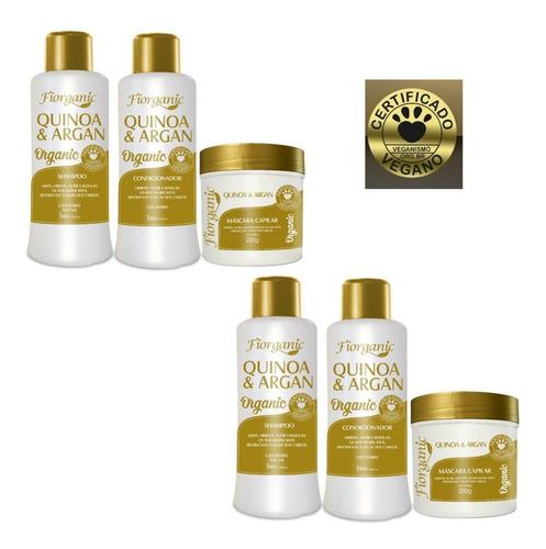 Shampoo + Condic. 300ml +  Máscara 250g - 02 Kits