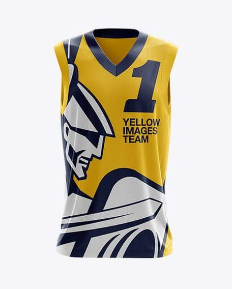 Mockup Camisa Basquete Yellow Images