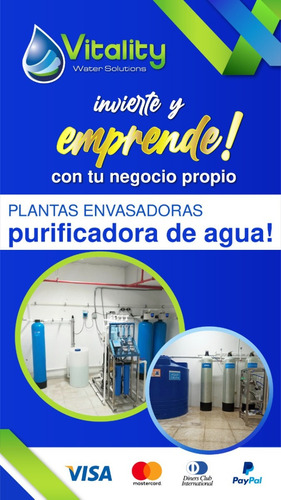 Planta Envasadora De Agua Osmosis Inversa