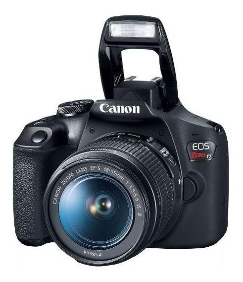 Câmera Canon Eos Rebel T7 18-55mm F/3.5-6.3 Is Il