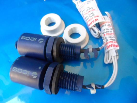 15 Sensor Lc26-m Vertical Eicos Com Adaptador Para Cano Pvc